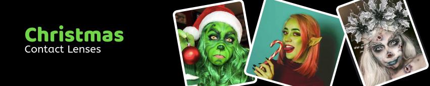 Christmas Contact Lenses