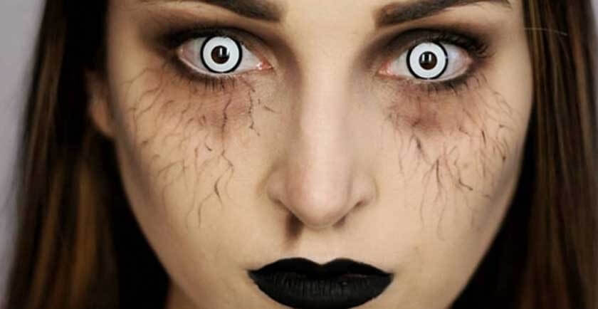 Crazy Lenses - Colored Contacts | Halloween Contact Lenses